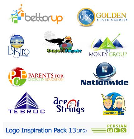 کلکسیون لوگوهای الهام بخش شماره سیزدهم - Logo Inspiration Pack 13
