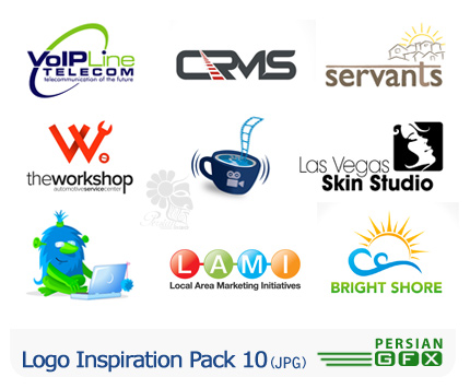 کلکسیون لوگوهای الهام بخش شماره ده - Logo Inspiration Pack 10