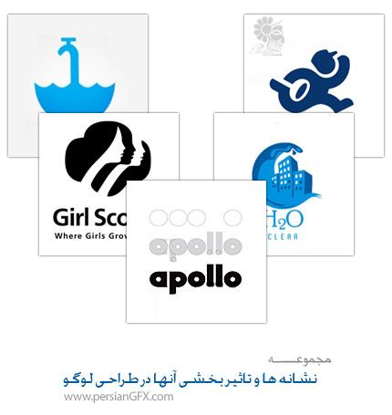 نشانه ها و تاثیر بخشی آنها در طراحی لوگو