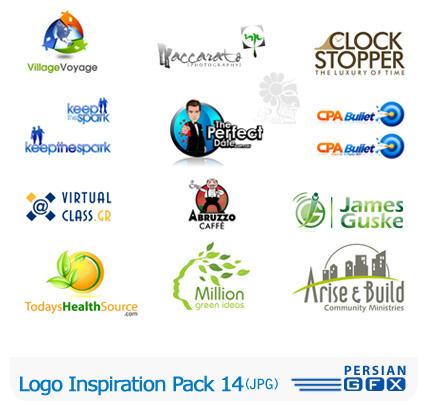 کلکسیون لوگوهای الهام بخش شماره چهاردهم - Logo Inspiration Pack 14