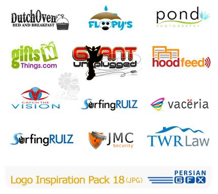 کلکسیون لوگوهای الهام بخش شمارهجدهم - Logo Inspiration Pack 18
