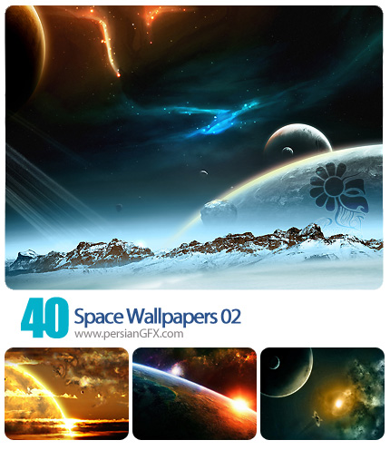 تصاویر والپیپر از فضا، آسمان، کهکشان شماره دو  - Space Wallpapers 02