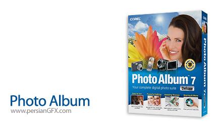 مدیریت تصاویر و ساخت آلبوم دیجیتالی Corel Photo Album 7.00 Deluxe