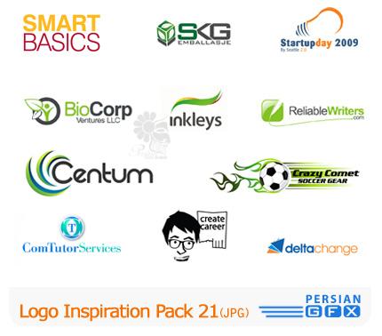 کلکسیون لوگوهای الهام بخش شماره بیست و یک - Logo Inspiration Pack 21