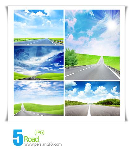 تصاویر جذاب و زیبا از جاده، منظره - Road