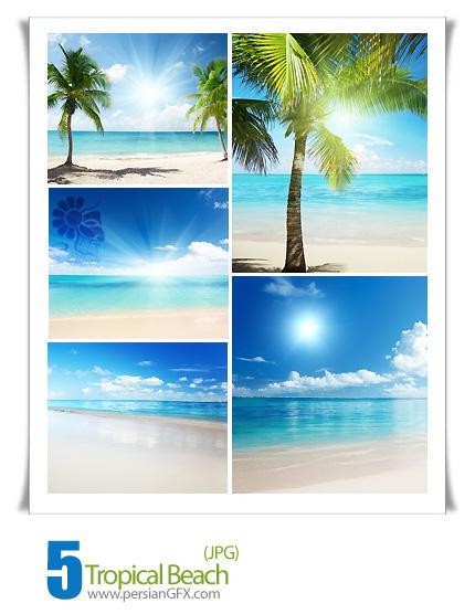 تصاویر جذاب و زیبا ساحل مناطق استوایی، چشم انداز، منظره - Tropical Beach