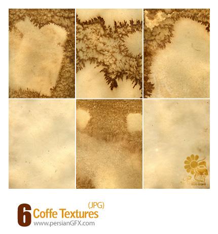 بافت با قهوه، لکه، بافت ابرو بادی - Coffe Textures