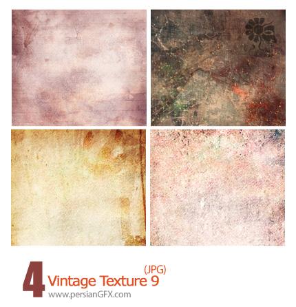 بافت کثیف، تکسچر کثیف شماره نه - Vintage Textures 09