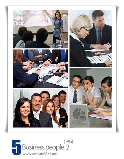 دانلود تصاویر مشاغل - Business people 02