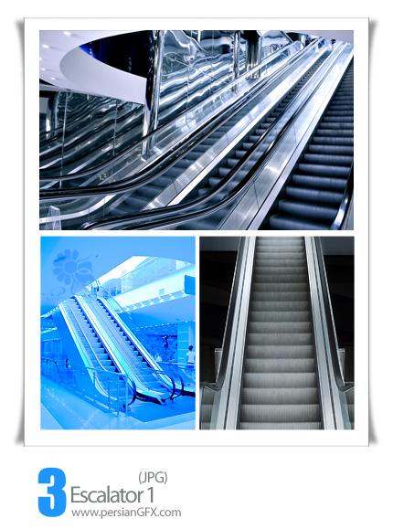 دانلود تصاویر پله برقی - Escalator 01