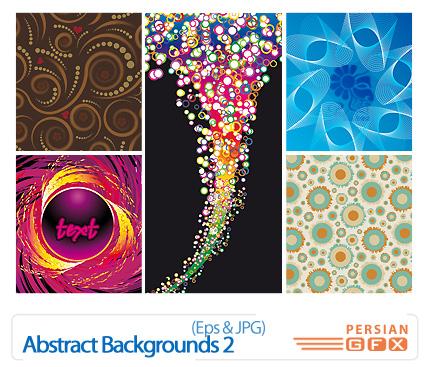 دانلود وکتور بک گراند انتزاعی -  Abstract Backgrounds 02