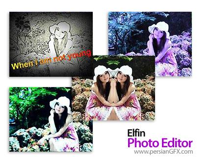 ویرایش تصاویر توسط Elfin Photo Editor 1.0