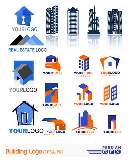 دانلود کلکسیون لوگوهای وکتور ساختمان سازی - Building Logo