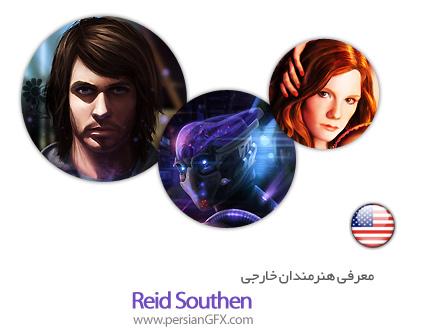 معرفی هنرمندان خارجی   Reid Southen از کشور ایالات متحده به همراه مجموعه آثار