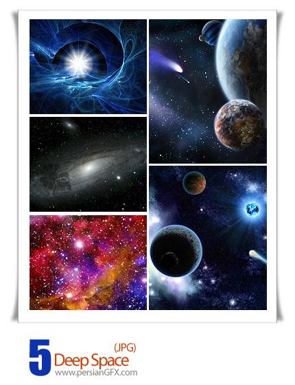 دانلود تصاویر کهکشان، فضا - Deep Space