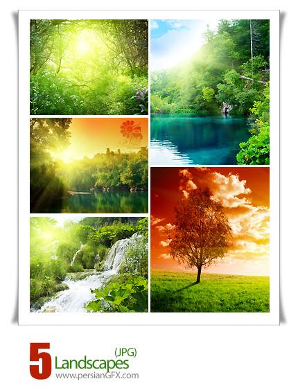 تصاویر منظره، چشم انداز  -Landscapes