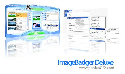 تبدیل تصاویر به فرمت های مختلف با ImageBadger Deluxe 4.947