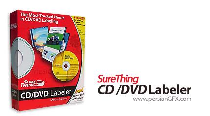 ساخت برچسب سی دی با SureThing CD DVD Labeler Deluxe 5.2.647.0