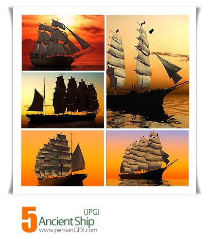 دانلود تصاویر کشتی قدیمی - Ancient Ship
