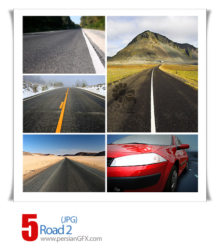 دانلود تصاویر جاده - Road 02