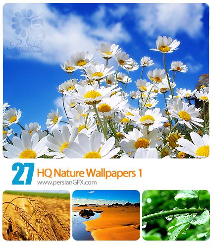 دانلود مجموعه والپیپر های طبیعت، منظره، چشم انداز - HQ Nature Wallpapers 01
