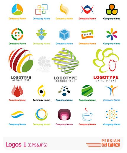 دانلود لوگو وکتور انتزاعی و مدرن - Logos 01