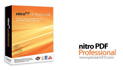 ایجاد و ویرایش فایل های PDF بوسیله Nitro PDF Professional 6.1.4.1