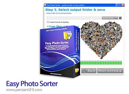 مرتب سازی تصاویر توسط Easy Photo Sorter 2.6
