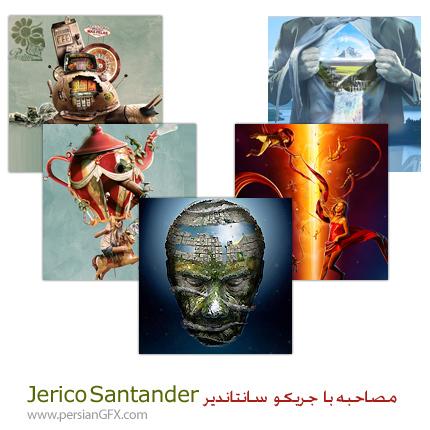 مصاحبه با جریکو سانتاندیر - Jerico Santander هنرمند طراحی های سه بعدی و نقاشی