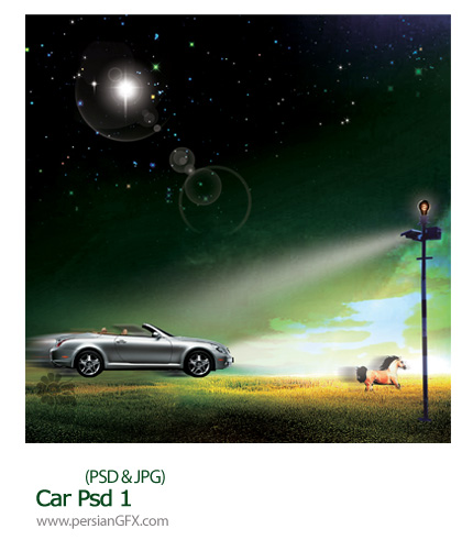 دانلود تصویر لایه ماشین - Car Psd 01