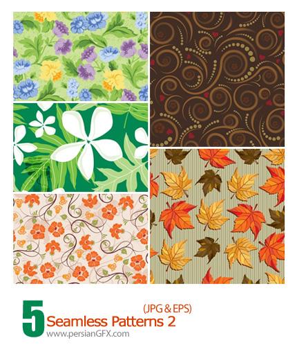 دانلود پترن گل دار - Seamless Patterns 02