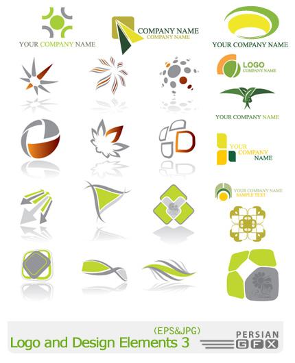 دانلود لوگوهای وکتور و عناصر طراحی - Logo and Design Elements 03