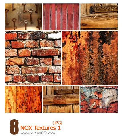 دانلود بافت متنوع، دیوار، چوب - NOX Textures 01