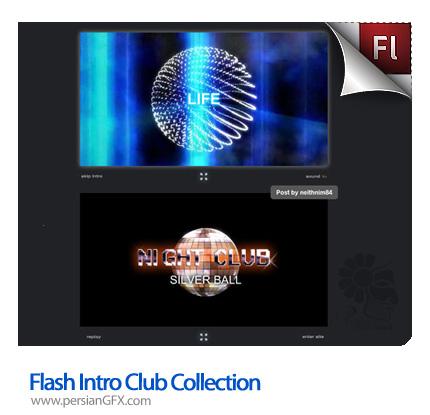 دانلود تیزر تبلیغاتی با موضوع کلوپ در فلش - Flash Intro Club Collection