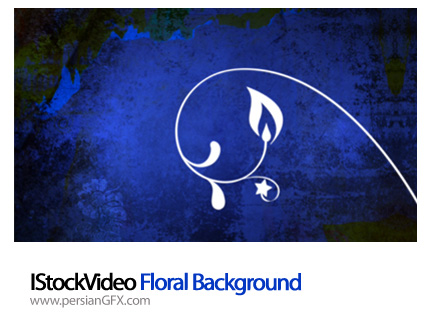 دانلود فایل آماده ویدئویی  بک گراند گل دار - IStockVideo Floral Background
