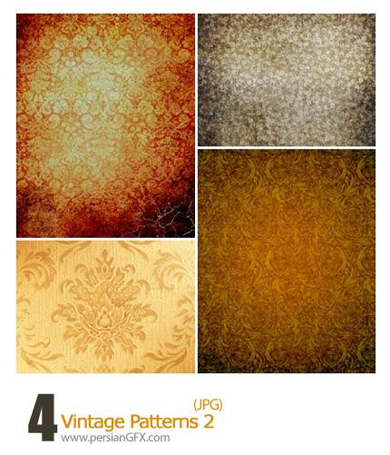 دانلود پترن های کثیف گل دار - Vintage Patterns 02