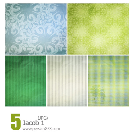 دانلود بافت متنوع و جذاب، گل دار - Jacob 01