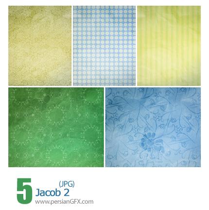 دانلود بافت متنوع و جذاب، گل دار - Jacob 02