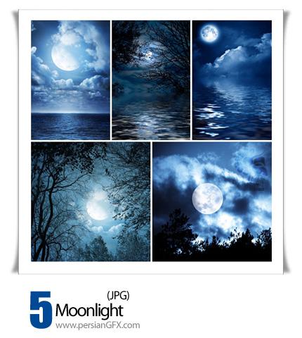 دانلود تصاویر نور مهتاب - Moonlight