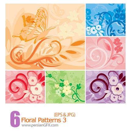 دانلود پترن های گل دار - Floral Patterns 03