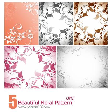 دانلود پترن های گل دار زیبا - Beautiful Floral Pattern