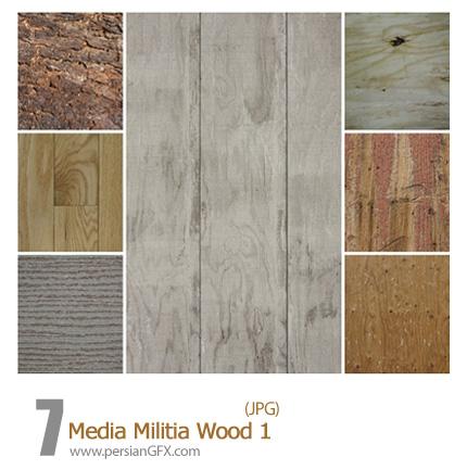 دانلود تصاویر بافت چوب - Media Militia Wood 01