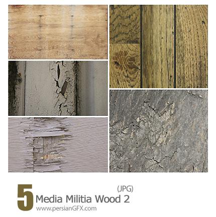 دانلود تصاویر بافت چوب - Media Militia Wood 02