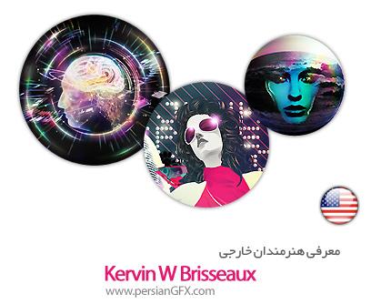 معرفی هنرمندان خارجی Kervin W Brisseaux از کشور ایالات متحده به همراه مجموعه آثار