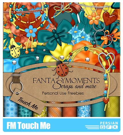 دانلود کلیپ آرت تزیینی،عناصر طراحی، بافت، گل - FM Touch Me