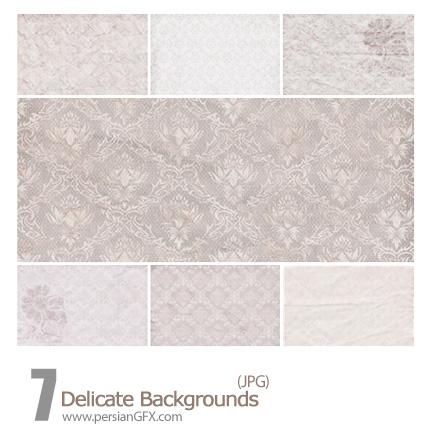 دانلود پترن های بک گراند گل دار ظریف - Delicate Backgrounds