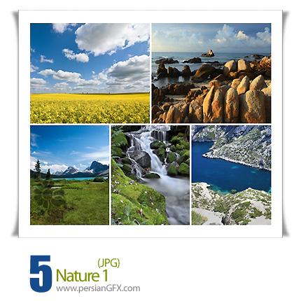 دانلود تصاویر طبیعت، کوه، دشت، منظره - Nature 01