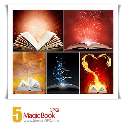 دانلود تصاویر کتاب جادویی - Magic Book