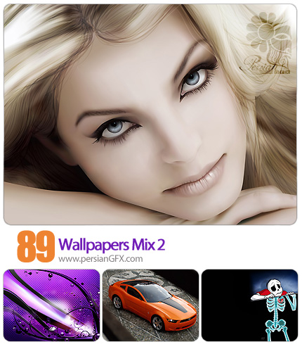 دانلود تصاویر والپیپر ترکیبی - Wallpapers Mix 02
