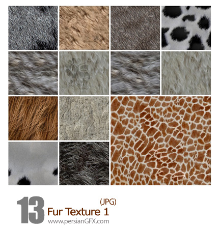 دانلود بافت خز، پوست - Fur Texture 01